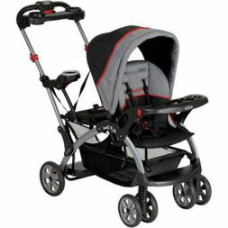 2 Kids Standing Sitting Quick Fold Baby Ultra Single Double