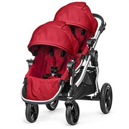 Baby Jogger 2014 City Select Stroller w/2nd Seat, Ruby