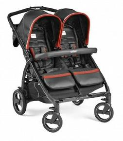 Peg Perego 2016 Book For Two Double Stroller in Synergy New!