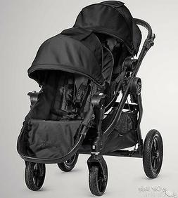 Baby Jogger 2016 City Select Double Stroller  Black on Black
