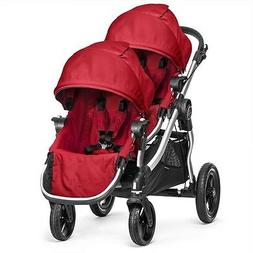 Baby Jogger 2016 City Select Double Stroller - Ruby New!! Op