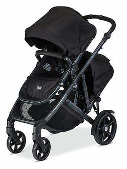 2017 b ready double stroller in black