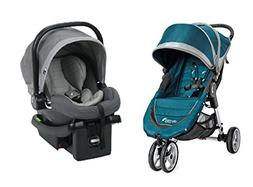 Baby Jogger 2017 City Mini Travel System, Teal/Gray
