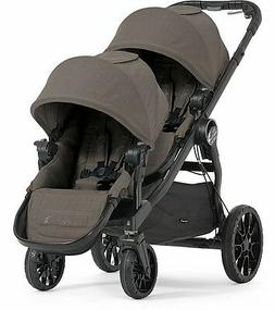 Baby Jogger 2017 City Select LUX Double Stroller in Taupe Ne