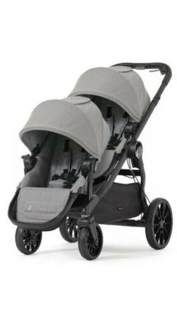 Baby Jogger 2017 City Select LUX Double Stroller in Slate Br