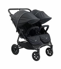 Valco 2017 NEO Twin Lite Stroller in Ink Black Fabric With E