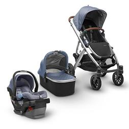 UPPAbaby Full-Size Vista Infant Baby Stroller & MESA Car Sea