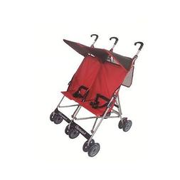 Amoroso 4232 Twin Baby Stroller With Net Bag at Handle, Blac
