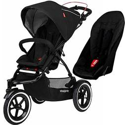 Phil&Teds Sport Buggy Stroller with Double Kit V5, Black | S