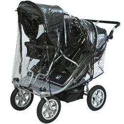 Valco Baby Twin and Toddler Seat Rain Cover