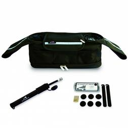 Jogging Stroller Organizer with Stroller Tire Pump & Tire Re
