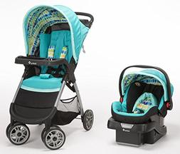 Safety 1st Amble Quad Stroller and Infant Car Seat Travel Sy