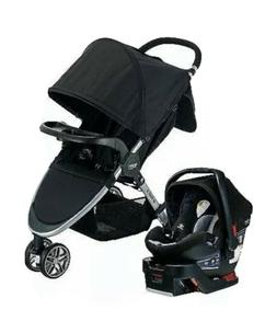 Britax B-Agile And B-Safe 35 Dual Comfort Travel System Gray