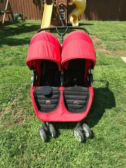 Britax B-Agile Double Stroller Red-Side by Side Large UV50 C
