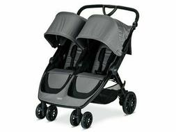 b lively double stroller color dove brand