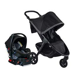 Britax B-Free & B-Safe Ultra Travel System, Pewter