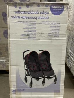 babiesrus styler double stroller clearance safety harness