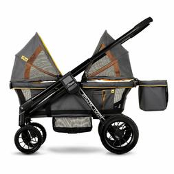 Evenflo Baby Double Stroller Wagon Adjustable Handle All Ter