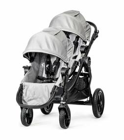 Baby Jogger City Select Double Stroller Black Frame Two Seat