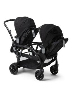 GRACO Baby Modes Duo Double Stroller BLK 2 infant Car Seat 2