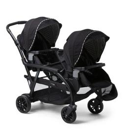 baby modes duo double stroller blk 2