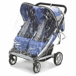 Valco Baby Rain Cover for Zee Two Double Stroller Free Shipp