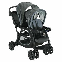 Baby Stroller Double seat, pushchair travel buggy, twin pram