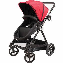 Contours Bliss 4-in-1 Convertible Stroller System, Crimson