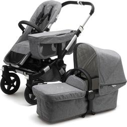 Brand New Bugaboo Donkey2 Duo Classic Complete Grey Stroller