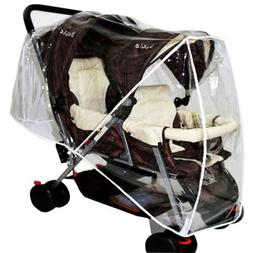 Chic Stroller Rain Cover Universal Pram Baby Infant Double P