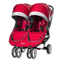 Baby Jogger City Mini Double Twin Stroller Crimson / Gray NE
