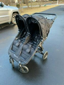 Baby Jogger City Mini GT Double Black/Shadow Standard Double