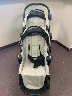 Baby Jogger City Select Double Stroller w/ 2nd Seat Kit - Si