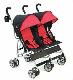 cloud lightweight and compact double umbrella stroller