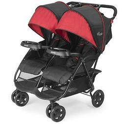 cloud plus lightweight double stroller 5 point