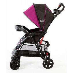 Kolcraft Cloud Sport Lightweight Stroller, Berry