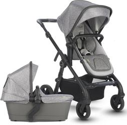Silver Cross Coast Single to Double Pram System Stroller w/