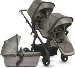Silver Cross Coast Twin Baby Double Pram System Baby Strolle