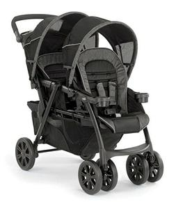 Chicco Cortina Together Twin Baby Double Stroller Minerale N