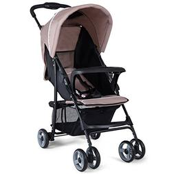 Costzon Lightweight Baby Stroller, Foldable Stroller with 5-