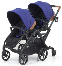 curve reversible seat twin double baby stroller