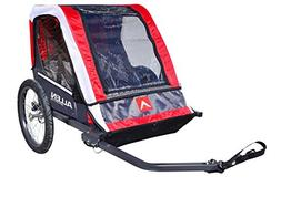 Sports Deluxe 2-Child Steel Bicycle Trailer