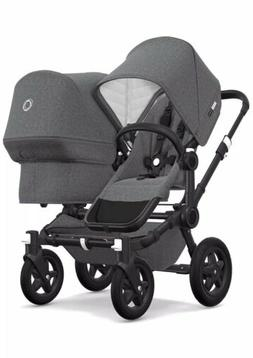 Bugaboo Doneky2 Complete Stroller DOUBLE Includes Extension