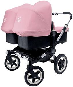 Bugaboo Donkey Complete Twin Stroller - Soft Pink - Aluminum