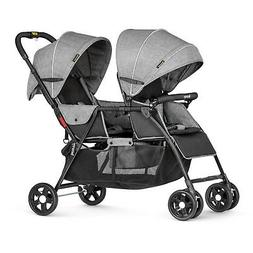 Besrey Double Stroller for Baby and Toddler-Tandem Duo Conne