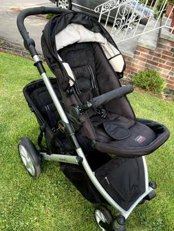 DOUBLE STROLLER - infant and toddler- Top Brand  - Used 3-4