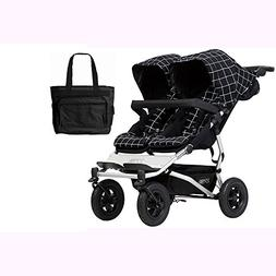 Mountain Buggy Duet V3_59 Double Buggy Stroller - Grid with