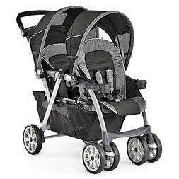 Easily Travel with 2 Infants Together Double Stroller in Ave
