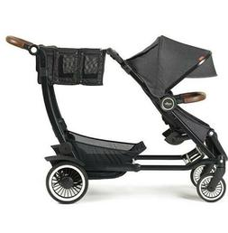 Austlen Entourage Convertible Stroller, Single-to-Double, Bl