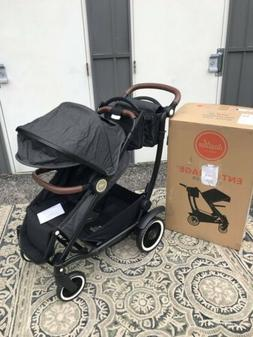 Austlen Entourage Expandable Stroller - Black -  Brand New!